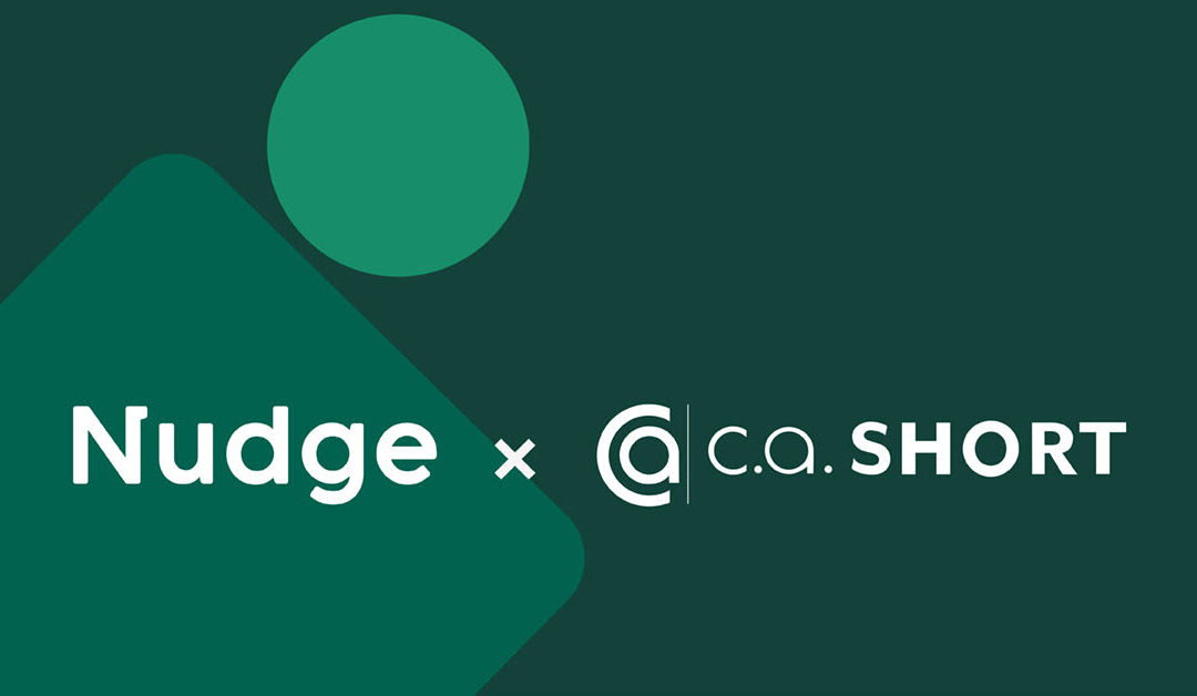 Nudge and CA Short partnership announcement